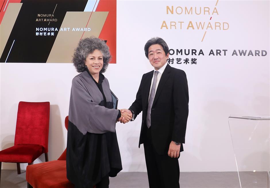 Nomura Art Award goes to Doris Salcedo