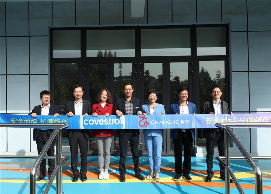 Covestro improving health, safety for elderly