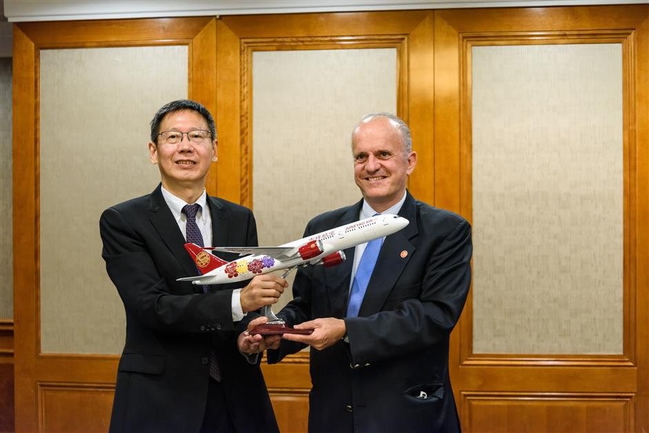 1st direct Shanghai, Athens flight to begin in June