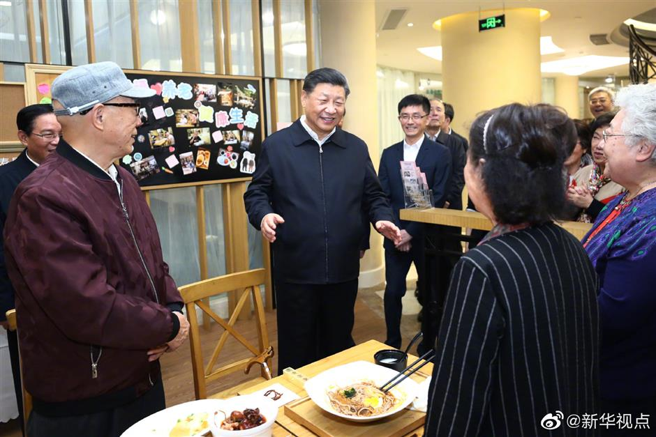 President Xi inspects Shanghai