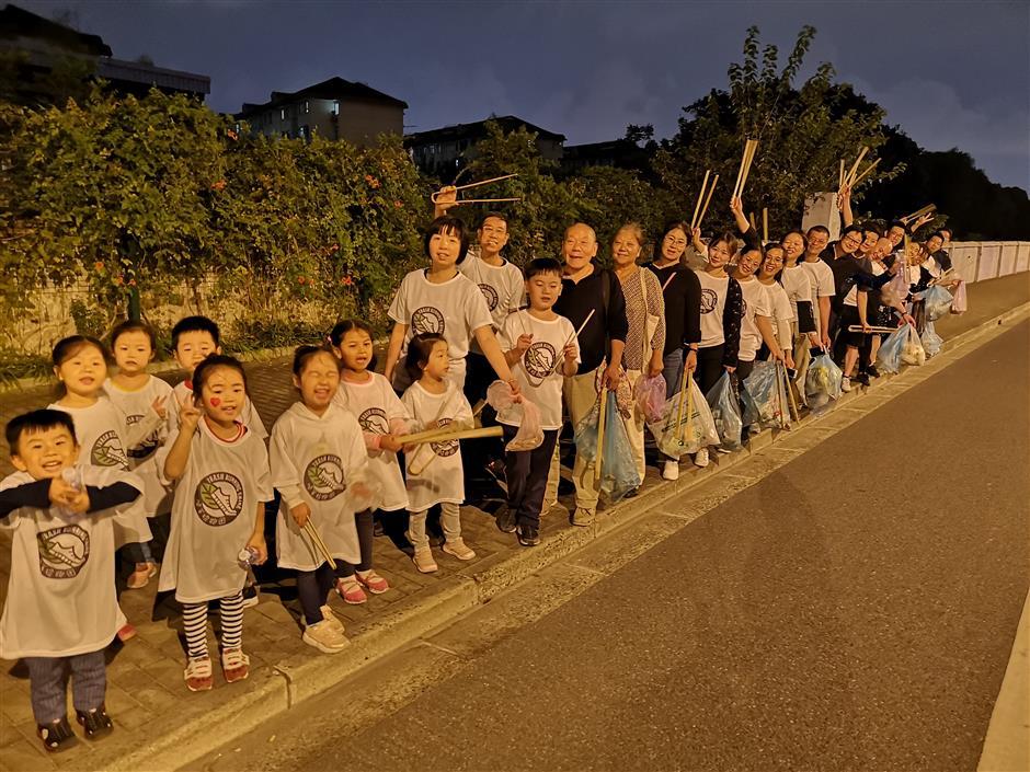 Plogging campaign puts its best foot forward