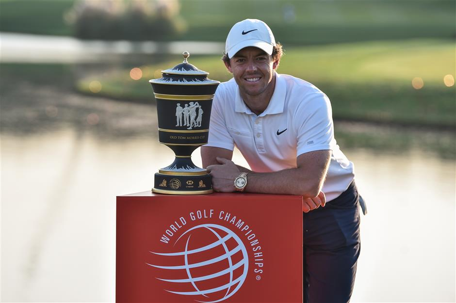 McIlroy wins HSBC Champions in a playoff with Schauffele