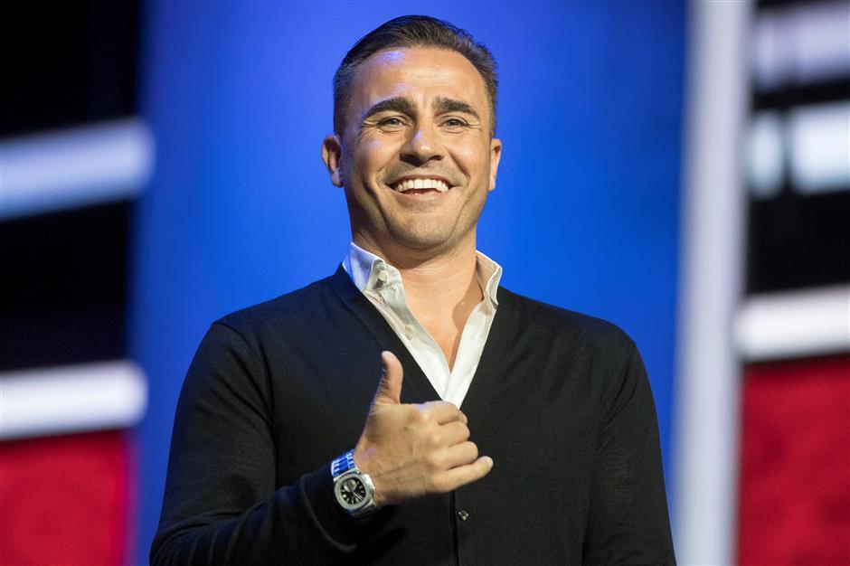 Cannavaro returns to Evergrande after self-reflection