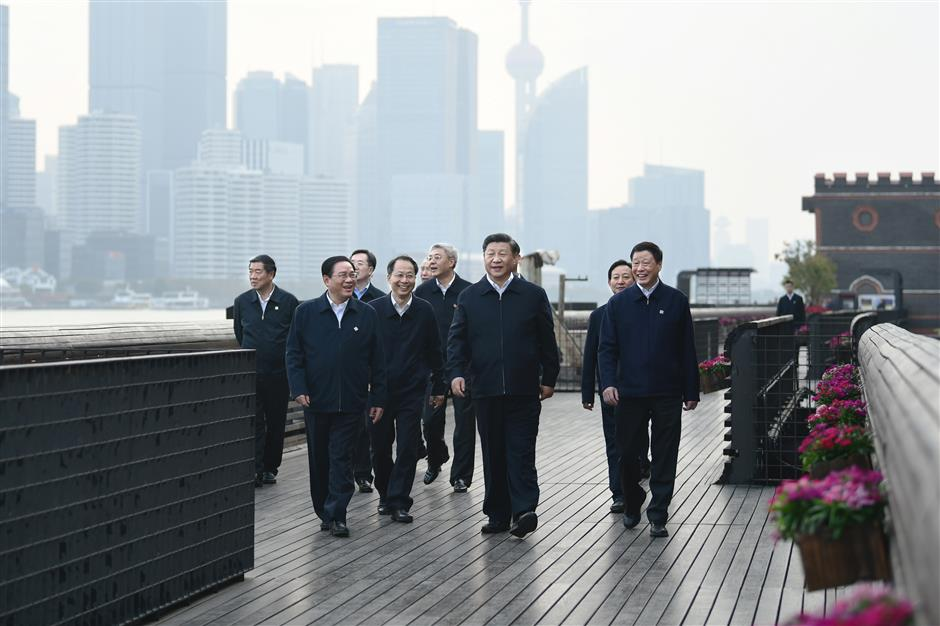 President Xi inspects Shanghai, stressing efforts to improve governance of modern metropolises