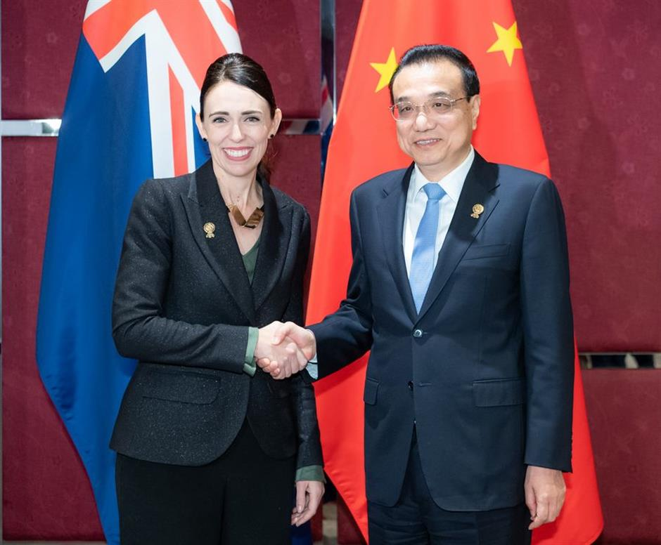 China, New Zealand welcome conclusion of FTA upgrade negotiations, pledge to enhance cooperation