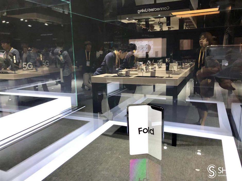 Samsung brings 8K displays and foldable smartphoneto CIIE