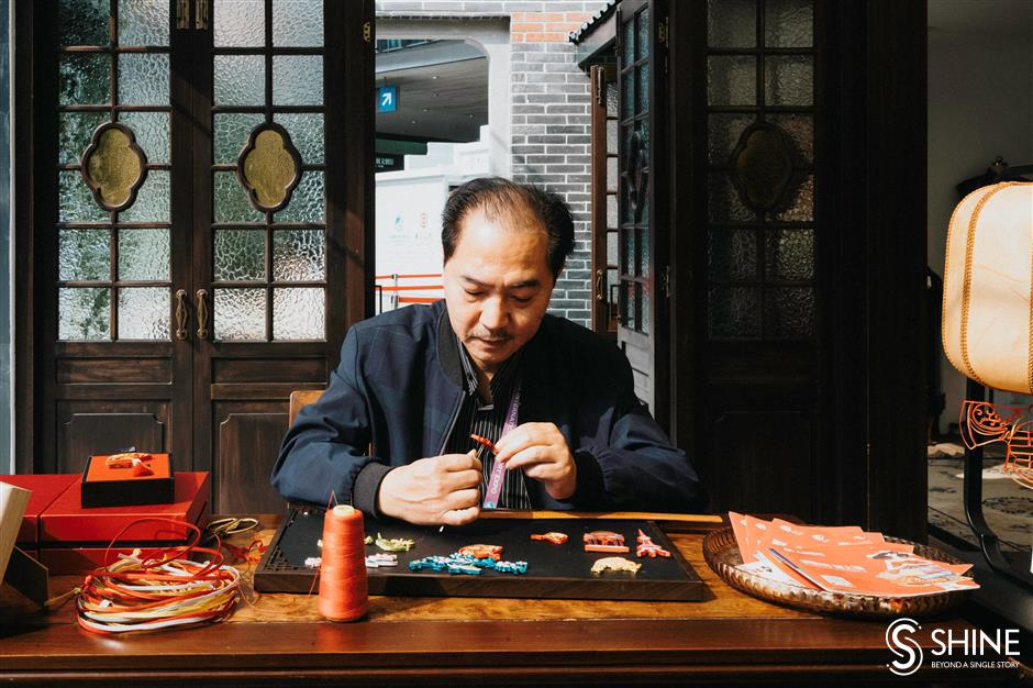 Expo show for Qipao master
