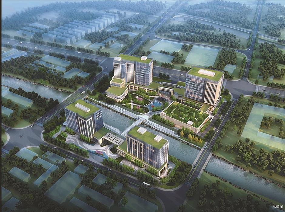 An advanced industrial cluster to serve world's leading enterprises