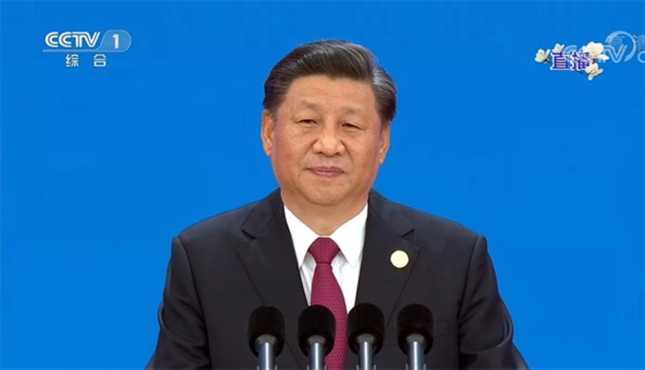 Xi announces opening of 2nd int'l import expo