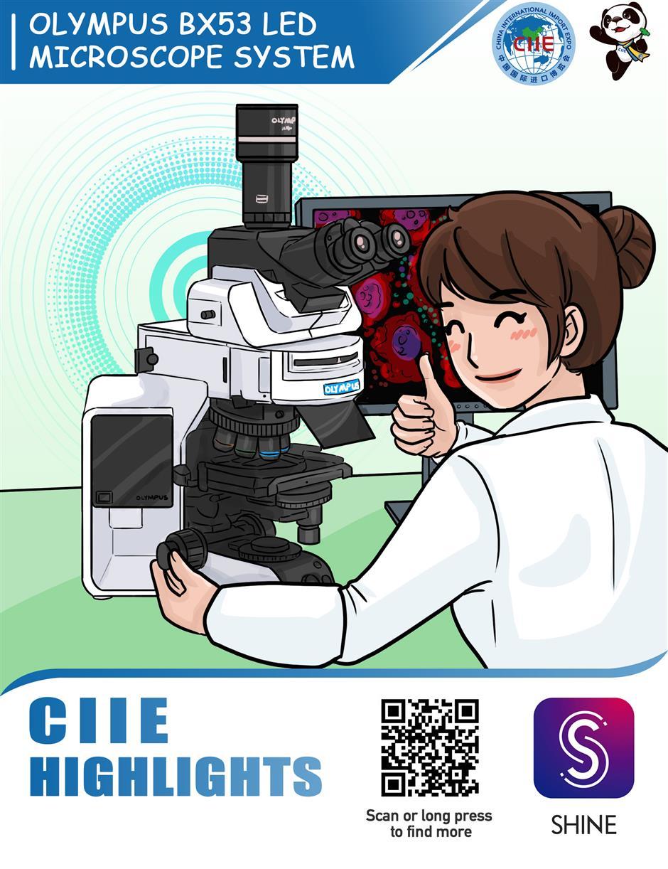 Olympus BX53 LED Microscope System