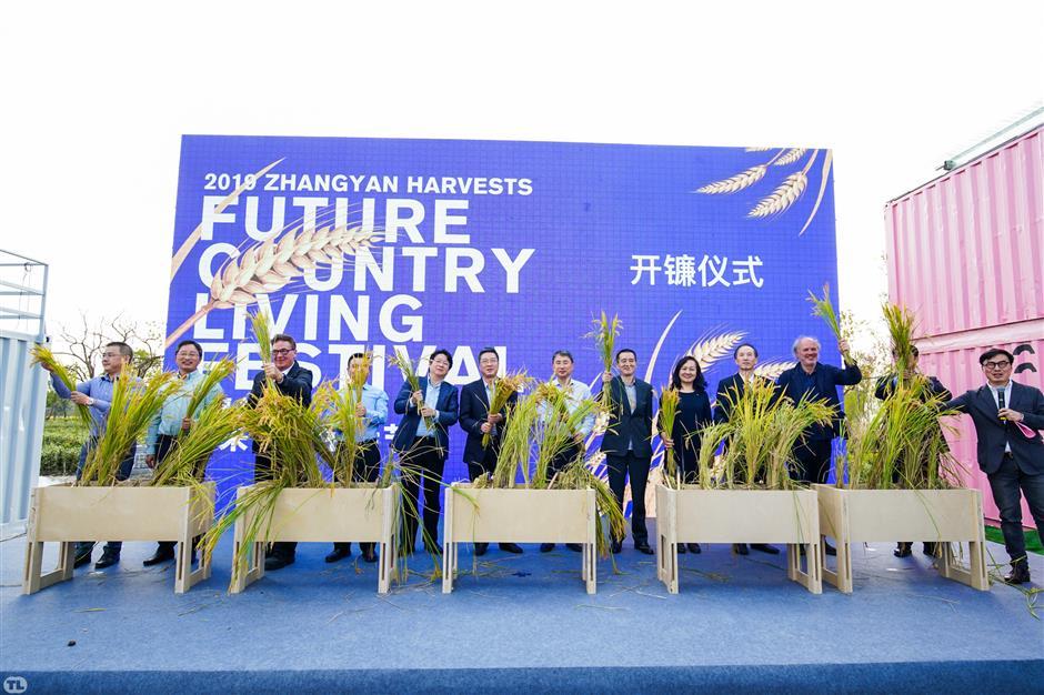 Harvest festival offers glimpse into rural future