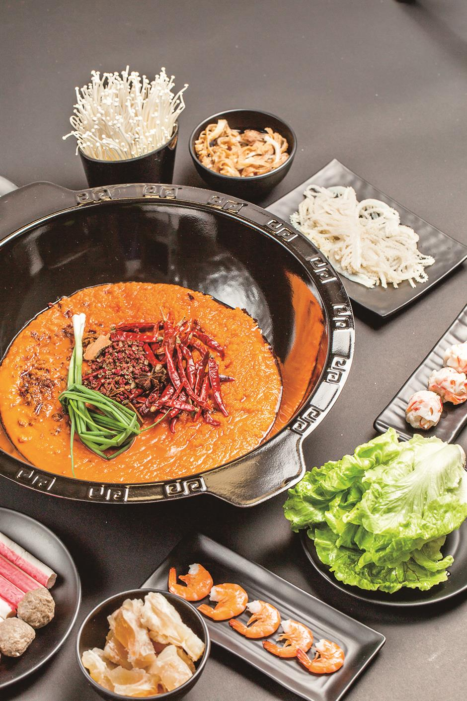 Premade mix adds spice to hotpot