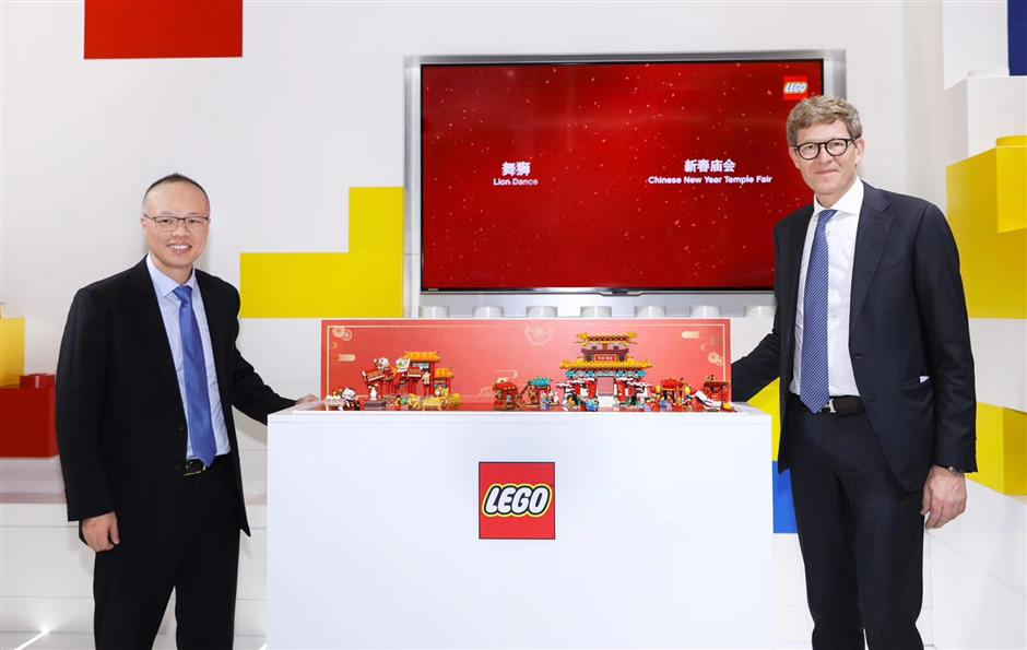 Lego sweetens sustainable development