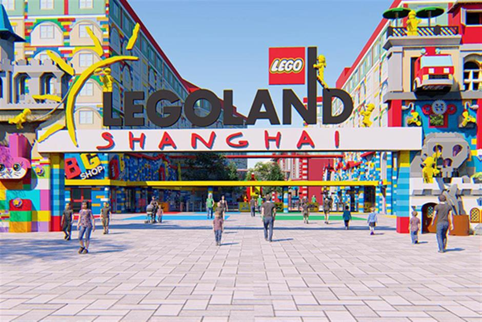 Legoland theme park coming to Jinshan