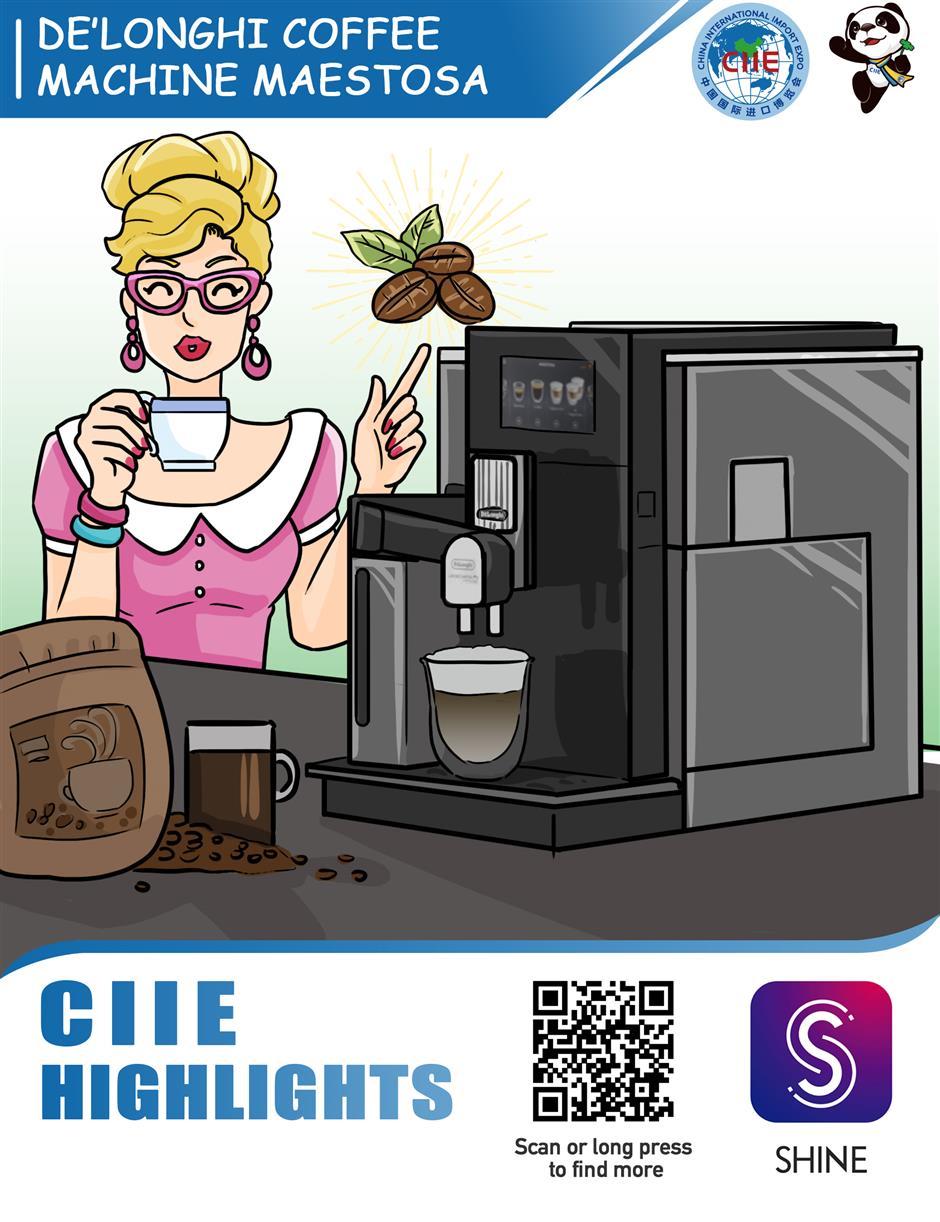 De'Longhi's Maestosa coffee machine