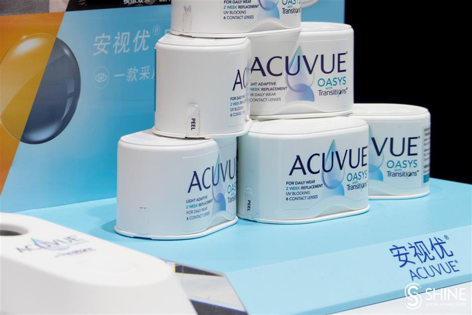 Acuvue shows off cutting-edge contact lenses