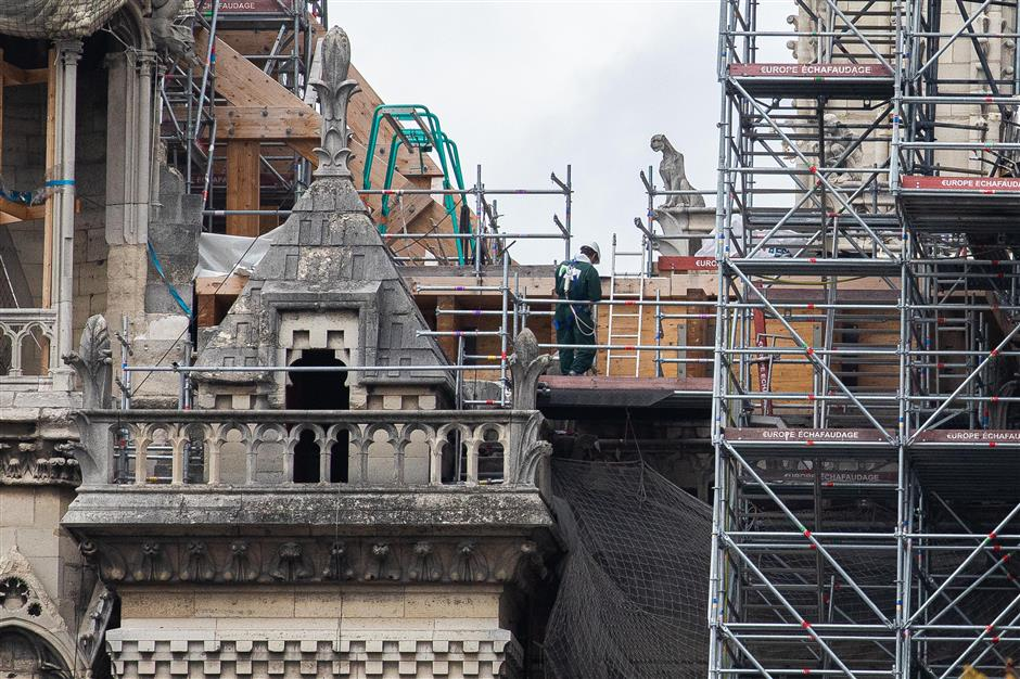 Chinese experts to join in Notre-Dame restoration