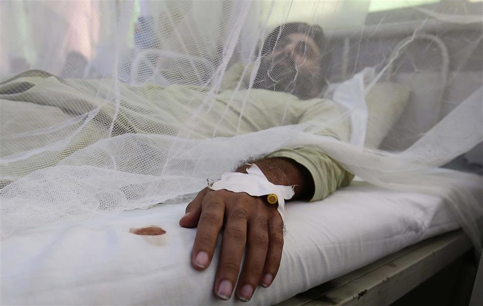 44,000 hit in Pakistan as dengue cases soar