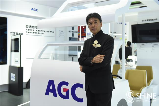 Japan's AGC shows off latest high-tech offerings