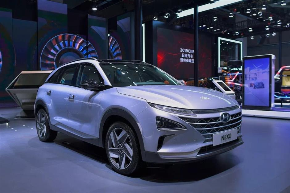 CIIE a stage for fuel-cell vehicles
