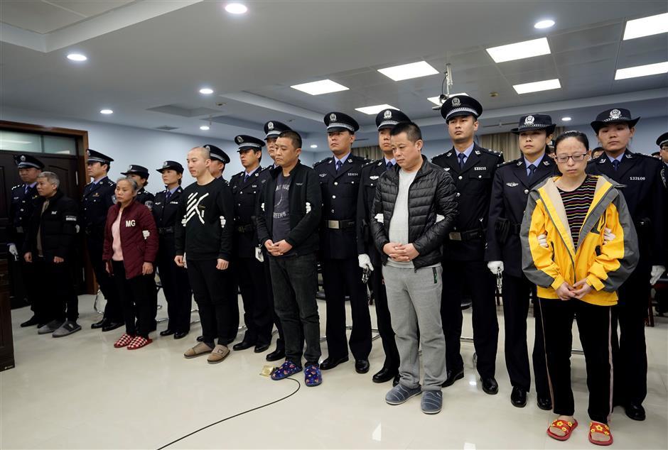 9 drug dealers sentenced