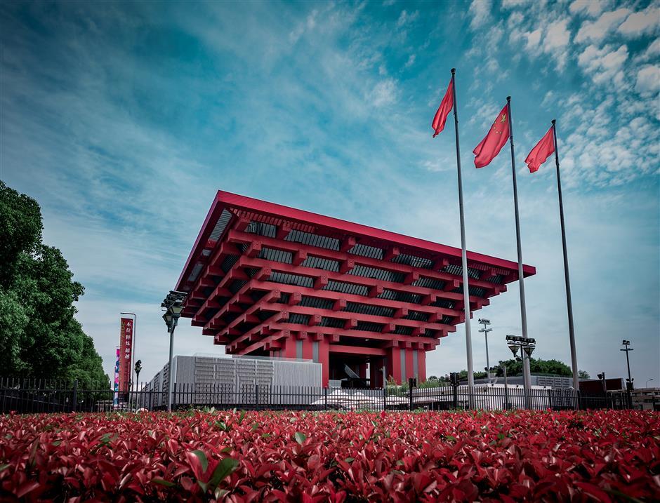 Qiantan the shining gem in Expo area's success