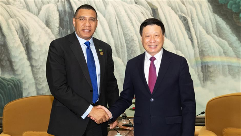 Mayor Ying meets Jamaican PM Holness