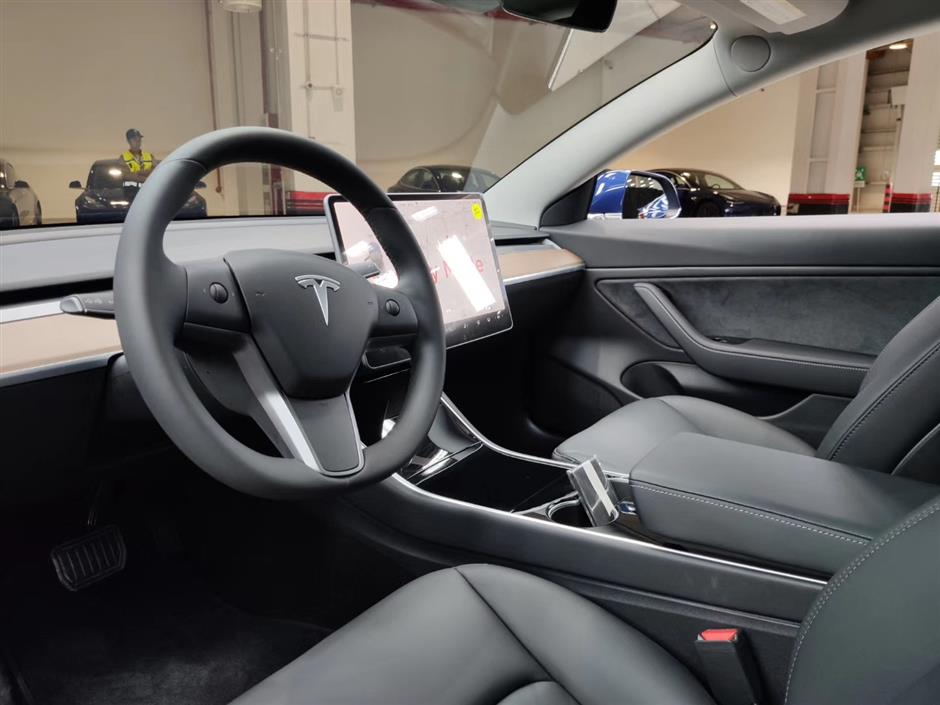 Tesla Model 3s ready to roll