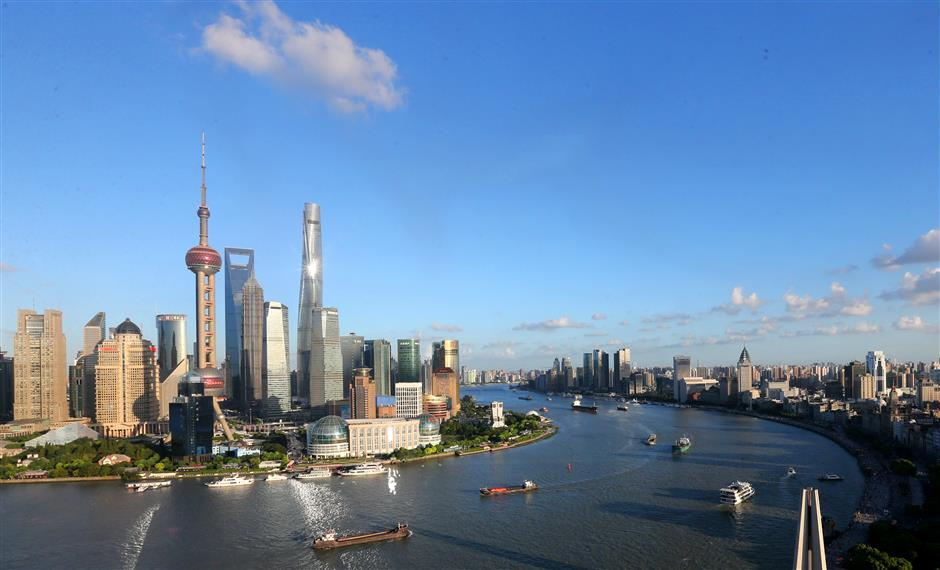 Lujiazui blazing new trails for finance, trade