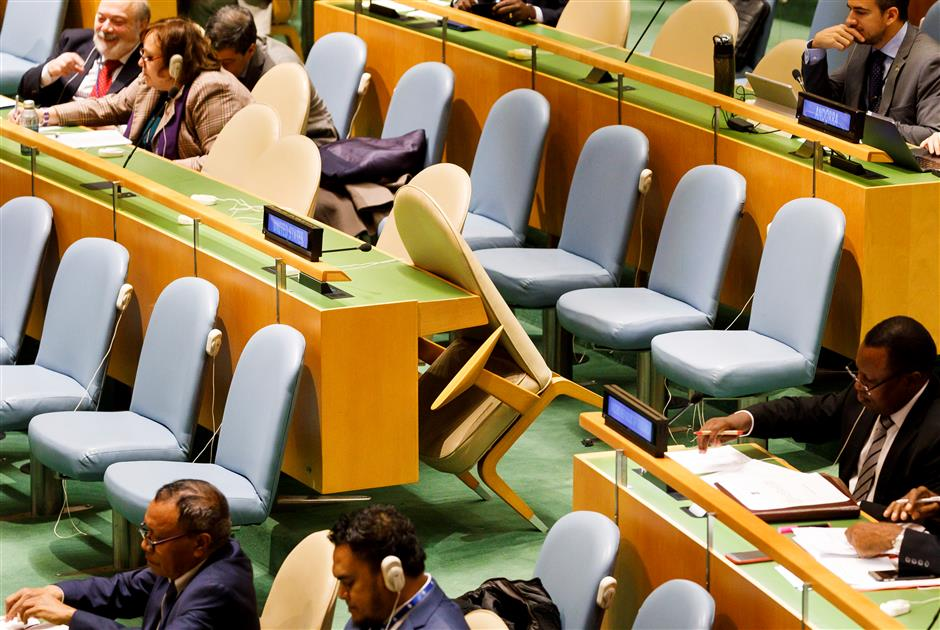 UNGA adopts resolution urging end to US embargo on Cuba