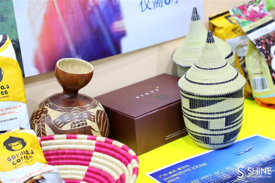 Rwanda pavilion stuns Chinese traders