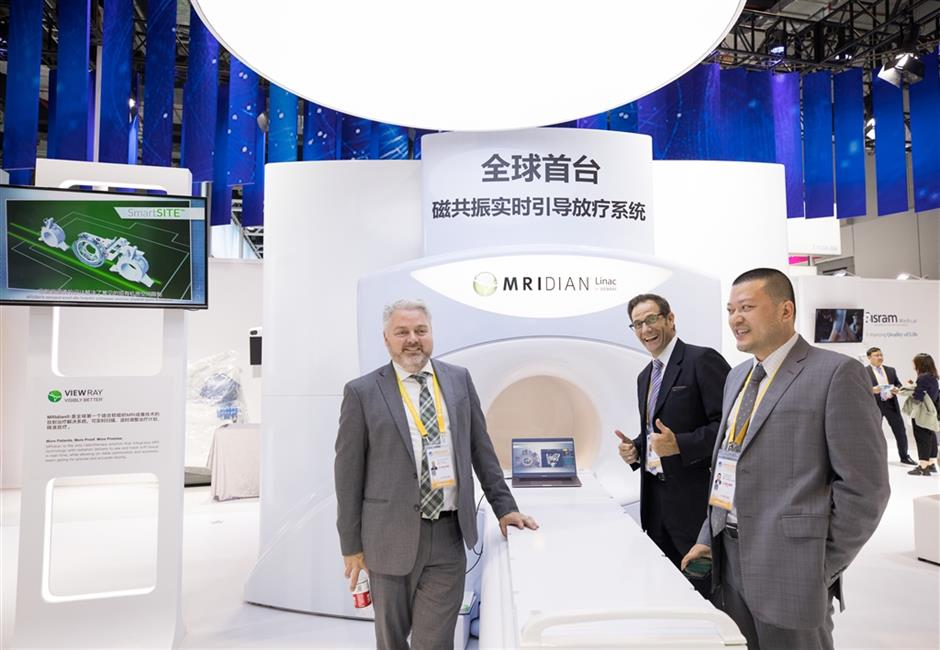 Pharma companies reach out through CIIE