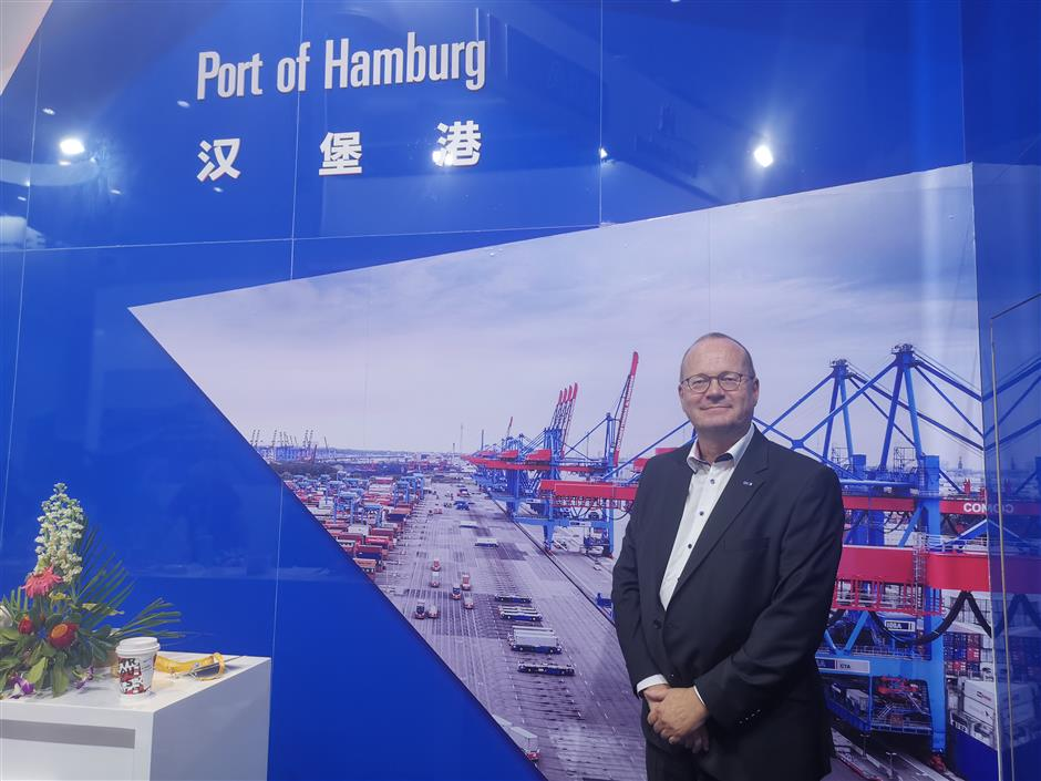 Hamburg expands presence through CIIE role