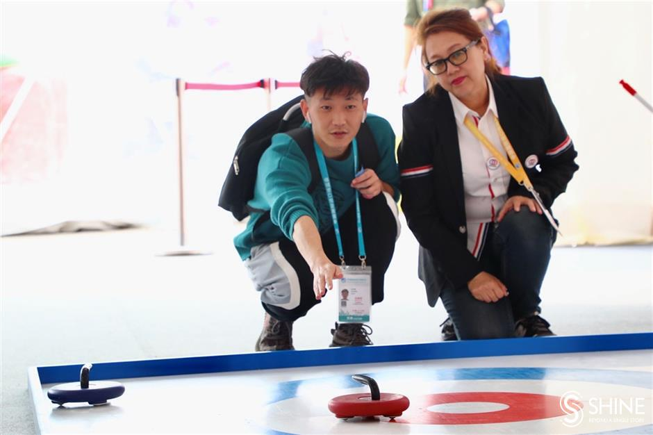 Winter Sports put icing on CIIE cake