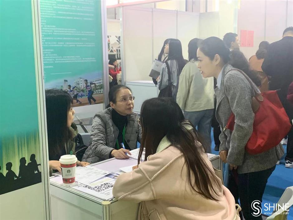 Teachers' job fair attracts new talent