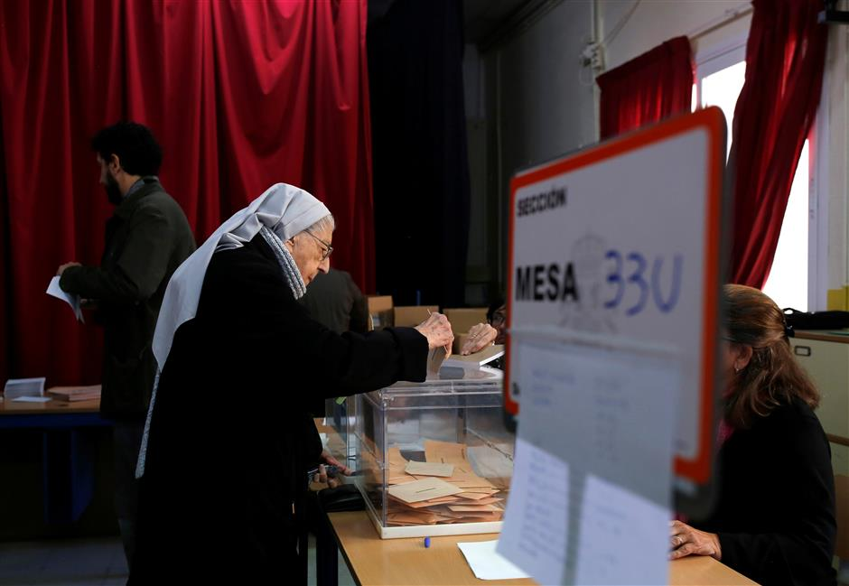 Far-right surge expected in Spain poll