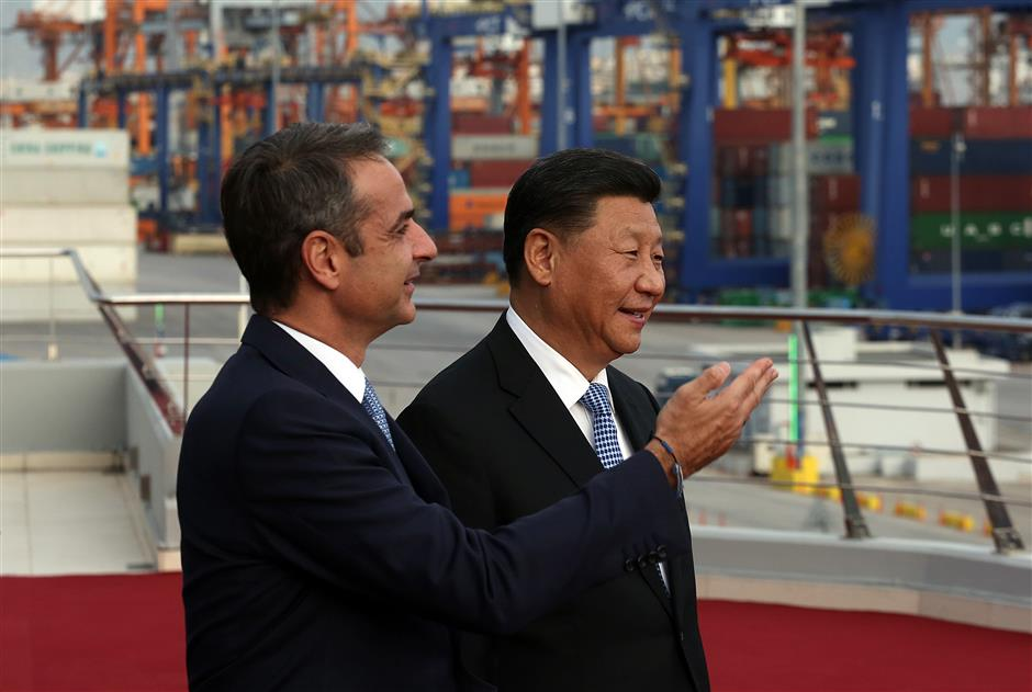 Port deal among 16 Sino-Greek contracts sealed