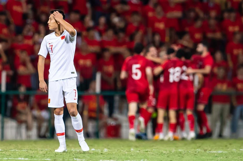 Own goal gifts Syria 2-1 win over China in FIFA World Cup qualifier