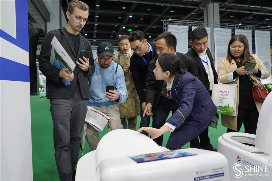 Expo highlights latest in toilet tech