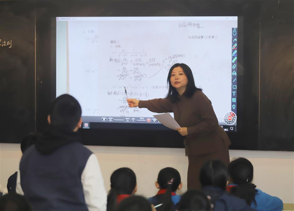 Students get a UK lesson in math