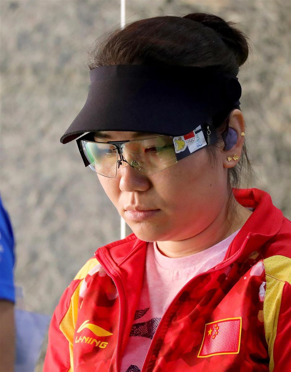China's Zhang strikes gold at World Cup final