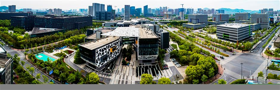 Binjiang continues to build digital economy, high-end manufacturing