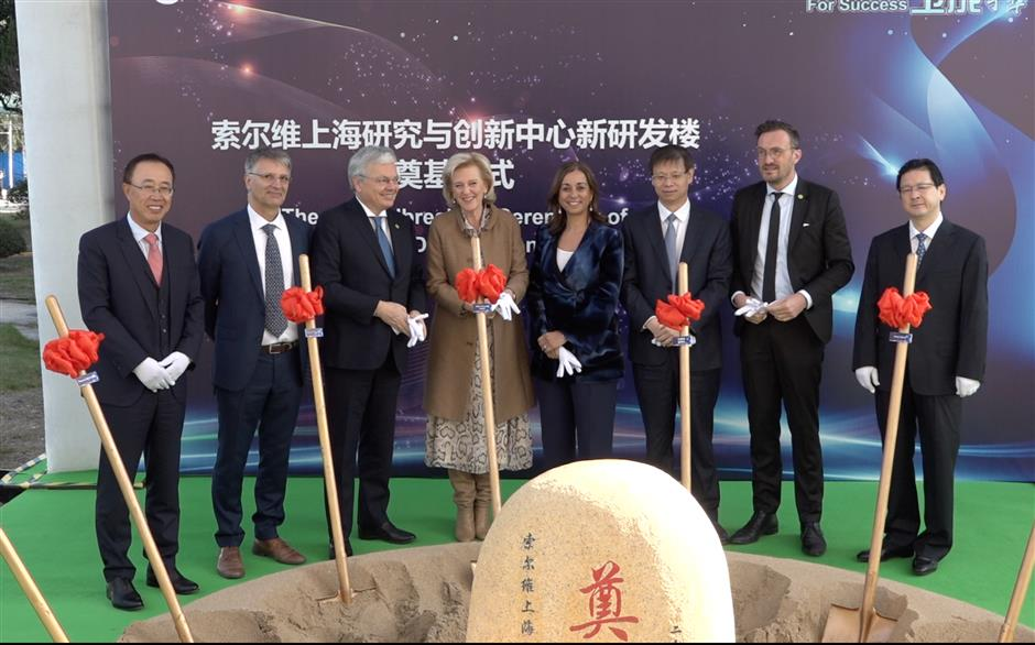 Solvay commits to innovation in China