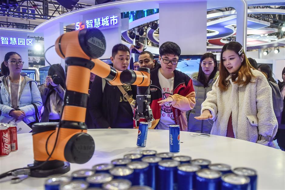 A peek into a 5G future at Beijing convention