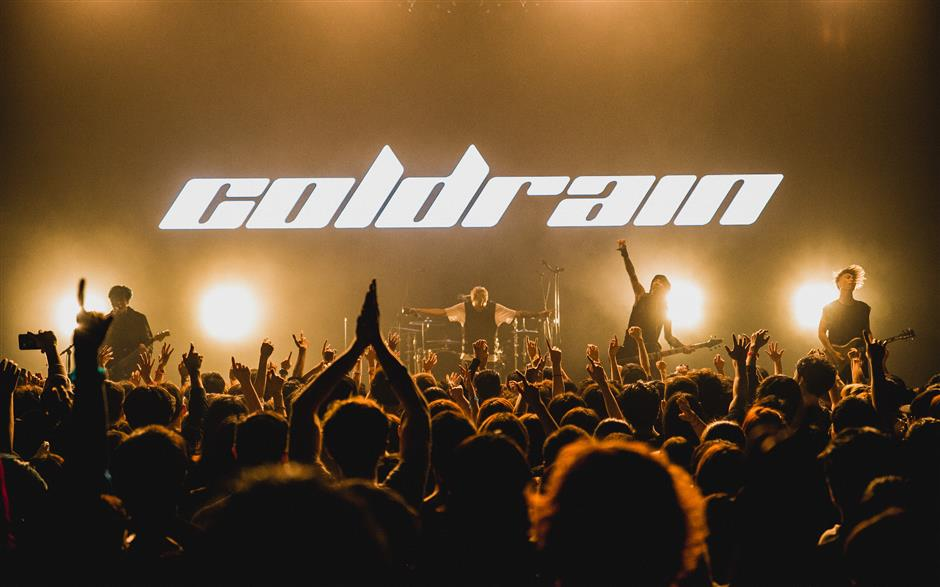 Coldrain Shanghai gig is hot and not wet