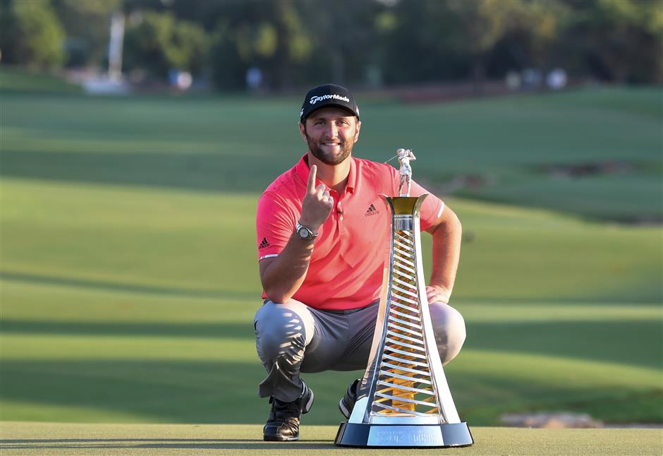 Rahm lands US$5-million jackpot with win in Dubai