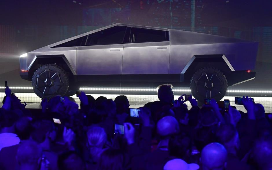 Tesla receives 146,000 pre-orders for new futuristic Cybertruck