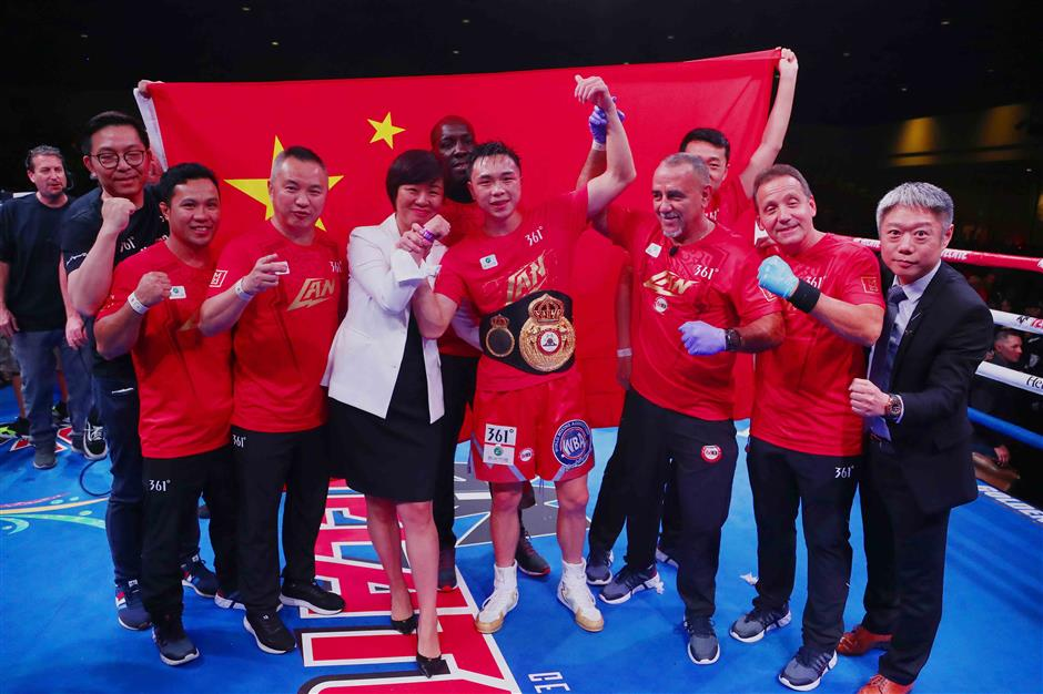 Xu dominates Robles to defend WBA featherweight title