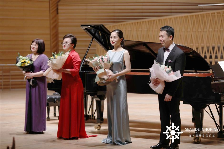 Concert pays tribute to Chinese piano classics