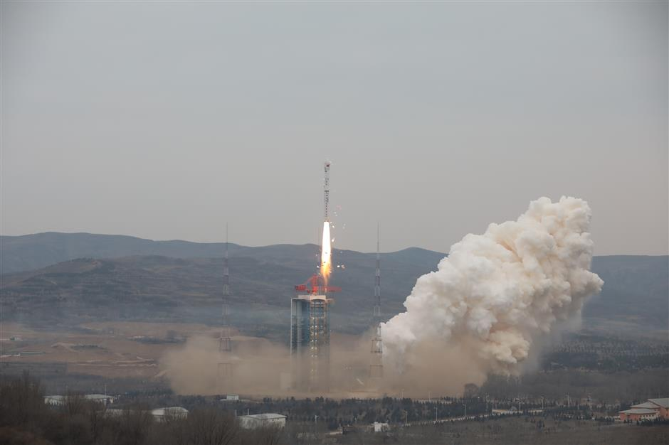New remote sensing satellite launched
